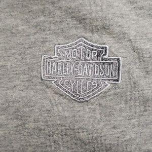 Harley-Davidson Shirts - HARLEY-DAVIDSON MENS MOCK TURTLE LONG SLEEVE TEE